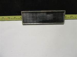 1963 Ford Galaxie Radio Delete Plate With Mounting