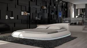 Moderne Betten Mit Led : sofas ledersofa design rundbett modica mit led beleuchtung farbwechsel betten g nstig ~ Bigdaddyawards.com Haus und Dekorationen