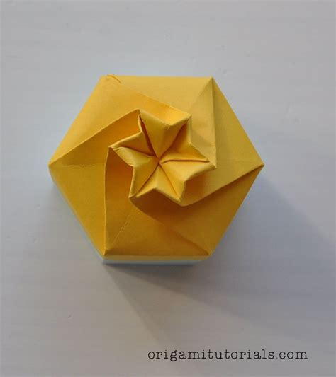 Origami Box Falten by Origami Box Origami Boxes And Containers 折り紙