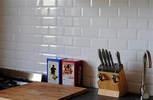 Credence Sur Carrelage : diy cr dence cuisine m tro mmaxine blog diy d co et ~ Premium-room.com Idées de Décoration