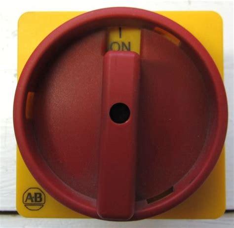 Allen Bradley 194L-A20-1754 Load Switch 20 Amp On Off 90 ...