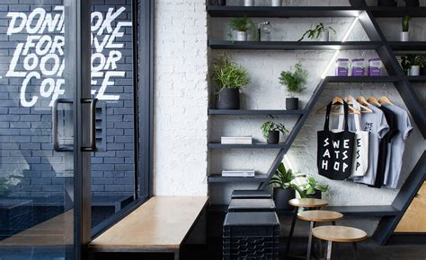 nyc coffee shops  architecture  design