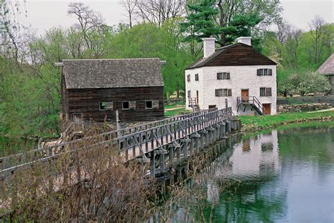 Philipsburg Manor Is A Historic House, Water Mill, In