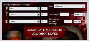 Blood Alcohol Content Chart Gallery Of Chart 2019