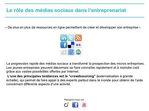 activit駸 des si鑒es sociaux le r 244 le des m 233 dias sociaux dans l entreprenariat