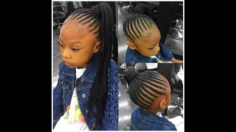 Hair Braiding Styles For Little Girls