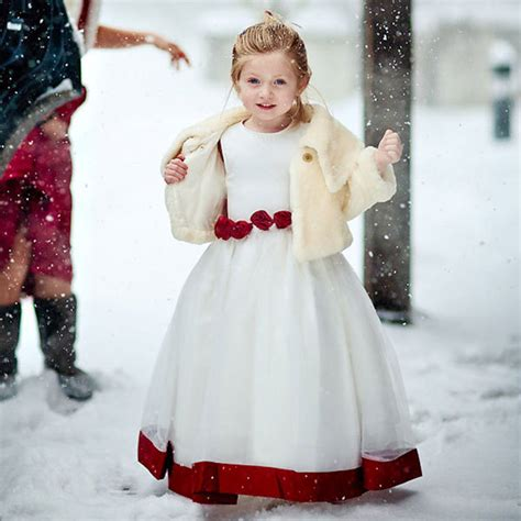 winter wedding flower girl ideas python training