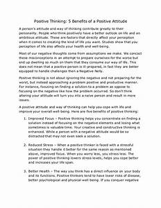 Essay Tips For High School Positive Thinking Essay Writing Examples Process Paper Essay also How To Write A High School Essay Positive Thinking Essay Writing Essays On Punctuality Positive  Thesis Persuasive Essay