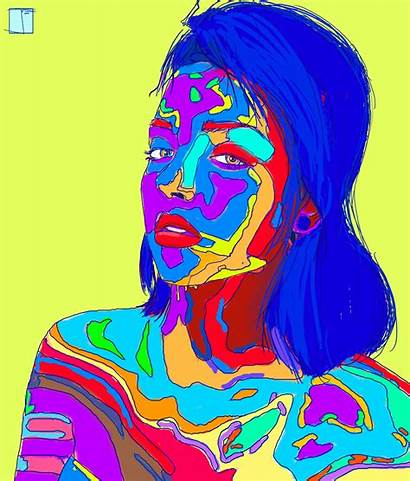 Drugs Colorful Phazed Trippy Rave Psychedelic Dream