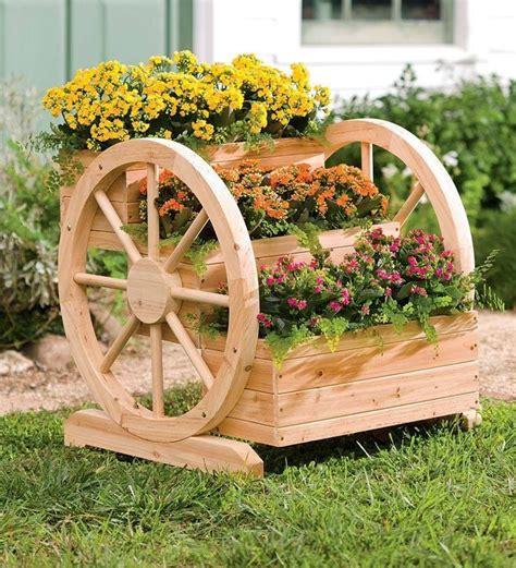 decoracion en jardines  carretas carretas  jardin