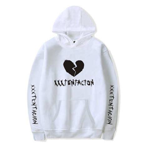 broken heart xxxtentacion hoodies printed pullover