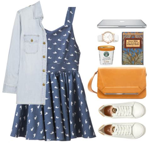 Outfit Ideas with Denim Dresses - Outfit Ideas HQ