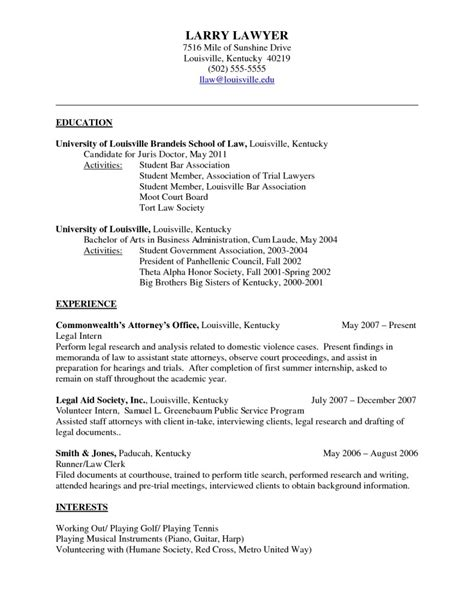 Doctor Resume Format by Sle Resume Format February 2015