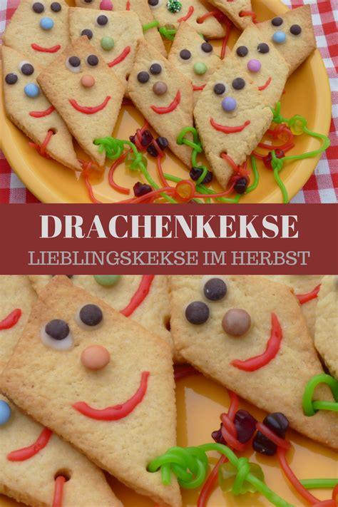 herbst geburtstag kinder drachenkekse rezept zum kekse backen im herbst