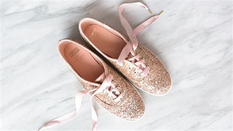 rose gold sneakers     life allure