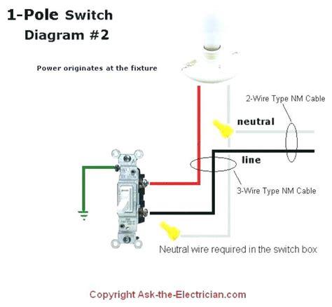 wall switch wiring diagram eyelash me