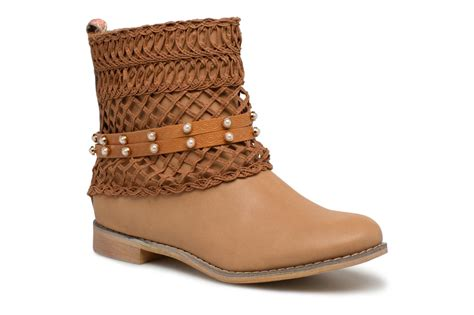 Women Ankle Boots Bullboxer Bessie Brown Detailed View
