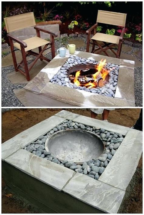 In the crisp autumn evenings, you and your family can gather around the flame, roast. Building Concrete Fire Pits Patio | Diy fire pit, Fire pit backyard, Fire pit patio