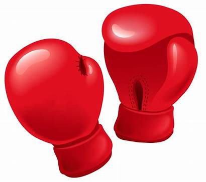 Gloves Boxing Transparent Glove Clipart Vector Punching