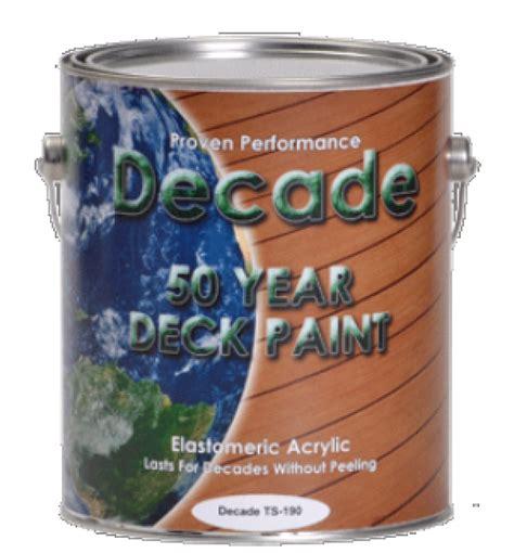decade deck paint  top secret coatings  gallon