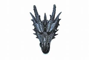 Faux Dragon Head // Black