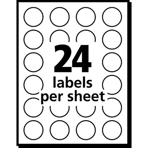 Avery Template 5472 by Avery Removable Print Or Write Color Coding Labels