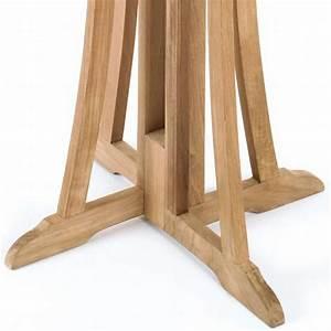 Bistrotisch Rund Holz : roggemann teak stehtisch bistrotisch outdoor wetterfest bartisch bar tisch holz ebay ~ Indierocktalk.com Haus und Dekorationen