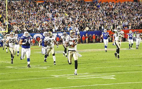 Super Bowl Xliv Saints Storm Past Peyton Manning Colts