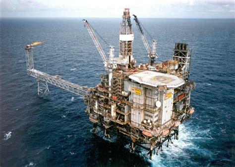 north sea platforms evacuated  power loss oil