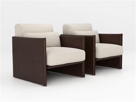 luggage armchair  model minotti italy