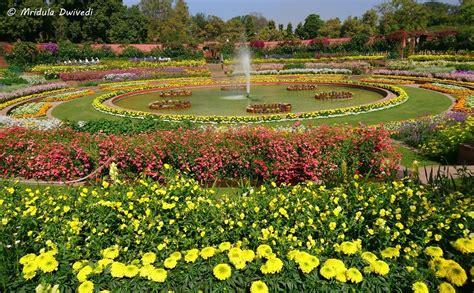 The Mughal Gardens At The Rashtrapati Bhawan, Delhi