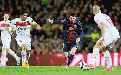 Barcelona 1 Paris Saint-Germain 1; agg 3-3: struggling ...