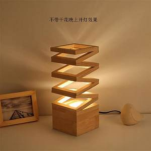 Phone Light Switch Artpad Japanese Style Table Lamps For Bedroom With Eu Us