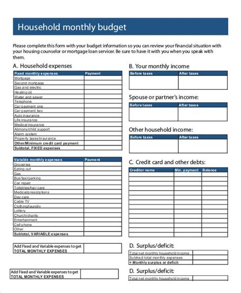 monthly expenses 30 free expense report templates free premium templates