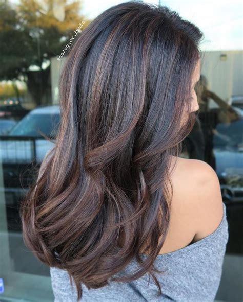 strähnchen kurze haare haare dunkelbraun mit hellbraunen str 228 hnchen 20