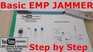 Basic Emp Jammer  100 Work Step By Step