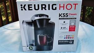 Unboxing  Review  U0026 Demo Of The Keurig K55 Classic Brewer