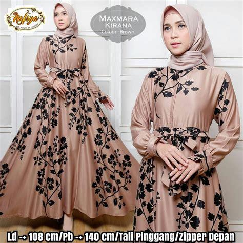 jual baju gamis wanita murah terbaru kirana busana muslim wanita baju muslim wanita di lapak