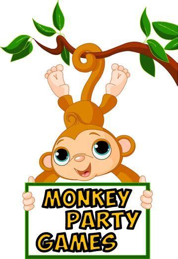 monkey theme party games