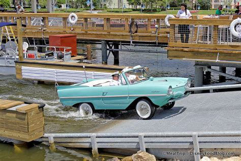 Boat Car Disney Springs by Look Hicar Tours At The Boathouse In Disney