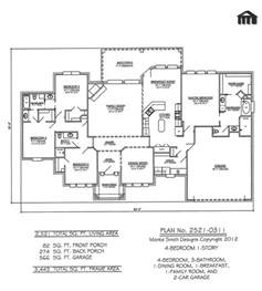 4 bedroom single house plans one open floor plans with 4 bedrooms bedroom 1 3 bathrooms 1 family room 1