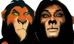 Scar Lion King Halloween Makeup Tutorial ...