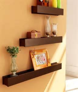 Image of Wooden Wall Shelves for Crafts