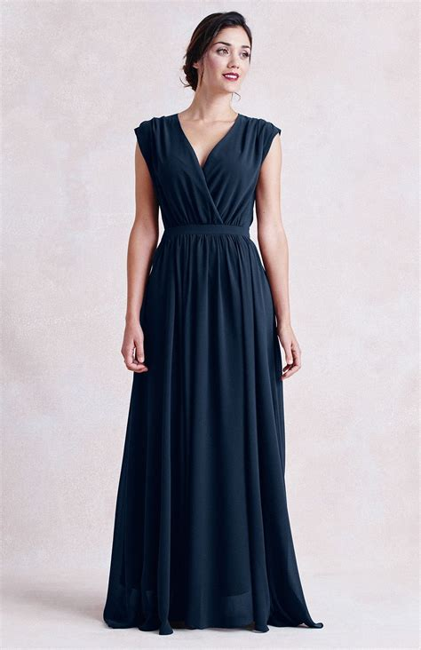 Jillian Dress | Dresses, Floor length chiffon bridesmaid ...