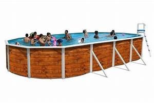 Piscine Acier Aspect Bois : piscine allong e etnica acier toi aspect bois piscine la ~ Dailycaller-alerts.com Idées de Décoration