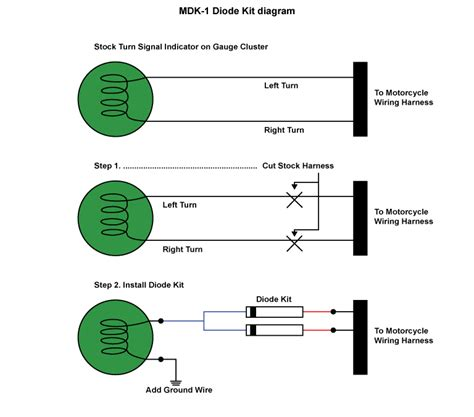 Diagram Of A Diode by Metric Bike Diode Kit Bright Leds
