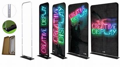 Fabric Display Displays Creative Promo Into Box