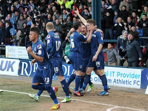 Soccer – FA Cup – Fourth Round – Oldham Athletic v ...