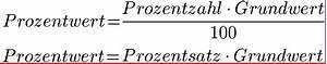 Prozentwert Berechnen Formel : prozentrechnung formeln prozentformel ~ Themetempest.com Abrechnung