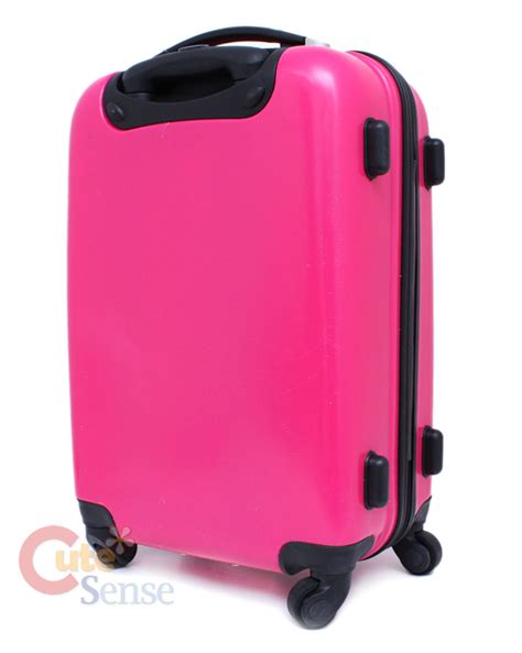 Koper Trolley Hello Hotpink sanrio hello luggage trolley bag abs 24 quot large